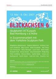 BLICKACHSEN 6 - Artfacts.Net