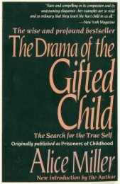 The Drama of the Gifted Child (The Search for the True Self)