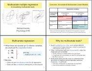 Multivariate multiple regression