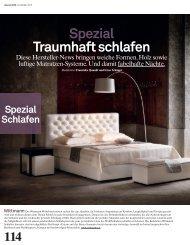 Spezial Traumhaft schlafen - Archithema Verlag AG