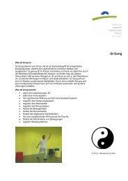 Qi Gong - Kantonale Psychiatrische Dienste - Sektor Nord