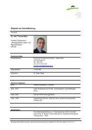 Profil (64 kB, PDF) - Kantonale Psychiatrische Dienste - Sektor Nord