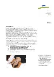 Shiatsu - Kantonale Psychiatrische Dienste - Sektor Nord