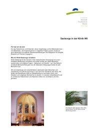 Seelsorge - Kantonale Psychiatrische Dienste - Sektor Nord