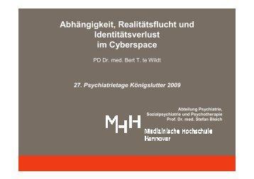(Microsoft PowerPoint - Vortrag te Wildt K\366nigslutter 2009 f\374r ...