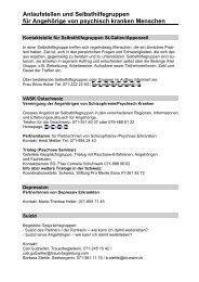 Selbsthilfe_Angehoerige06.pdf - Kantonale Psychiatrische Dienste ...