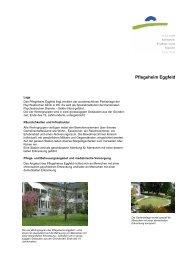 Pflegeheim Eggfeld - Kantonale Psychiatrische Dienste - Sektor Nord