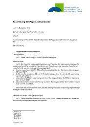 Taxordnung der Psychiatrieverbunde 2012 (47 ... - Kanton St.Gallen