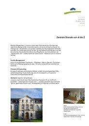 Zentrale Dienste von A bis Z - Kantonale Psychiatrische Dienste ...