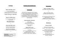 Vorträge Sonstige Veranstaltungen - Nürnberger Laienforum für ...
