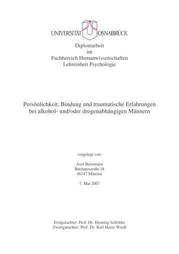 Diplomarbeit Bensmann 210507 - Universität Osnabrück