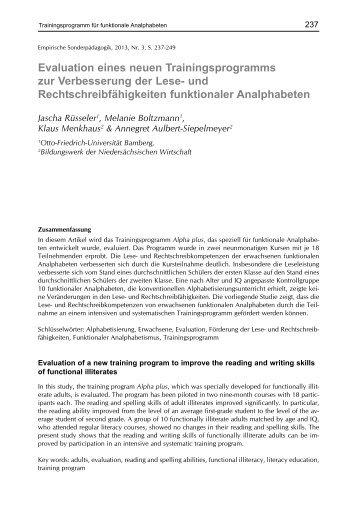 Beitrag als PDF - Psychologie-aktuell.com