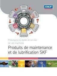 Produits de maintenance et de lubrification SKF