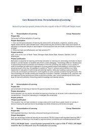 project proposals - Institut für Psychologie