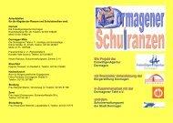 Ein Projekt der mit finanzieller Unterstützung der ... - Stadt Dormagen