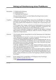 PraktikumBescheinigu.. - Psychologie - Universität Mannheim