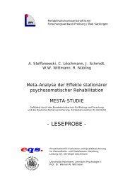 LESEPROBE - Psychologie - Universität Mannheim