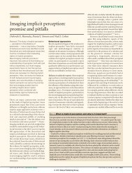 Imaging implicit perception - Department für Psychologie