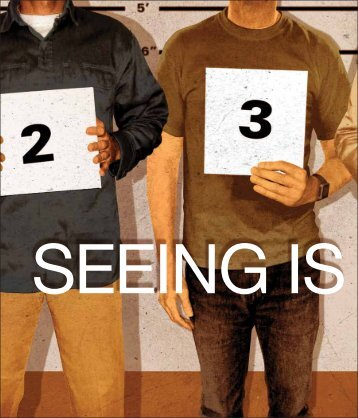 Seeing is believing - Department of Psychology - Iowa State University