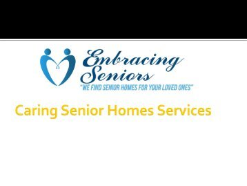 Caring Senior Homes Services