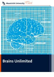 Brains Unlimited - Psychology and Neuroscience - Maastricht ...
