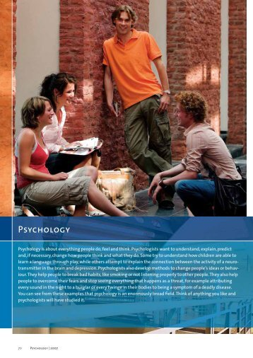 Psychology - Faculty of Psychology and Neuroscience - Maastricht ...
