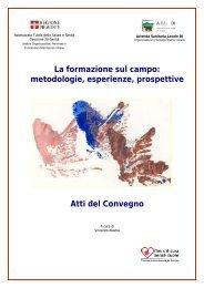La formazione sul campo: metodologie, esperienze ... - Psychomedia