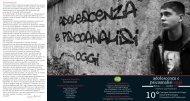 Adolescenza e psicoanalisi oggi - Psychomedia