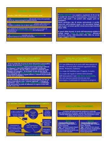 Il contributo della teoria dell'attaccamento alla ... - Psychomedia