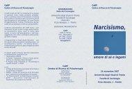 Narcisismo, - Psychomedia