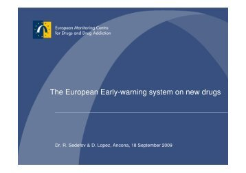 The European Early-warning system on new drugs - Psychonaut ...
