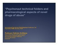 """""""Psychonaut technical folders and pharmacological aspects of novel ..."""