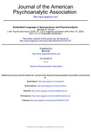Embodied Language in Neuroscience and ... - Psychomedia