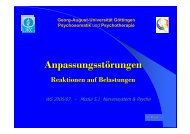 Anpassungsstörungen - Psychosomatik & Psychotherapie ...