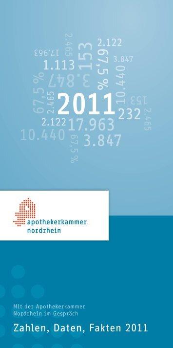 2011 - Apothekerkammer Nordrhein