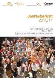 Jahresbericht 2010/11 - PsychoSozialen Dienstes