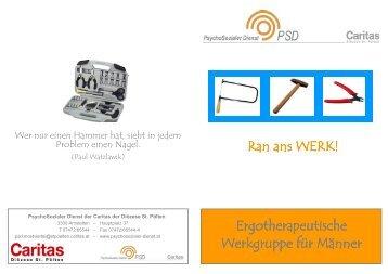 Ergotherapeutische Ergotherapeutische Werkgruppe für Männer ...