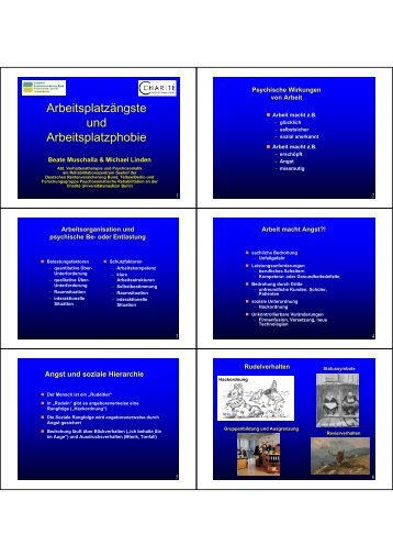 Diagnostik und Therapie [PDF - 0,6 MB] - Abteilung für Medizinische ...