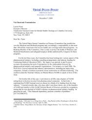 December 7, 2009 Via Electronic Transmission ... - PsychSearch