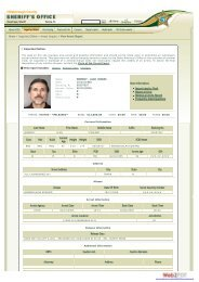 Hillsborough County Sheriff's Office - Inquiries Online ... - PsychSearch