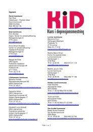 Oppland - RÃ¥det for psykisk helse