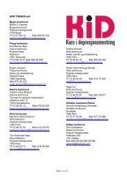 Side 1 av 6 - RÃ¥det for psykisk helse