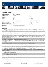 Les undersøkelsen her - Rådet for psykisk helse