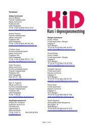 Hordaland - RÃ¥det for psykisk helse