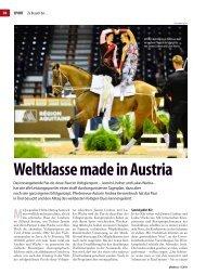 Weltklasse made in Austria