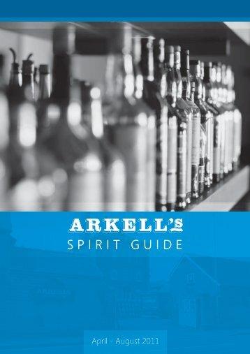 S P I R I T G U I D  E - Arkell's Brewery