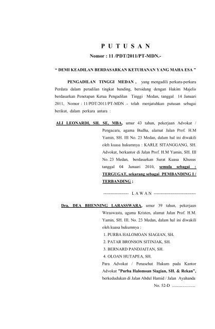 Download Disini Pengadilan Tinggi Medan