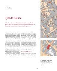 Hybride Räume - Lehrstuhl für Planungstheorie und Stadtentwicklung