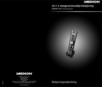 MD 82903 DK Cover RC1.FH11 - Medion