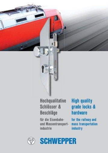 Imagebroschüre Eisenbahn / Image brochure Railway